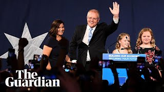 Scott Morrison claims victory for the Coalition: 'I've always believed in miracles'