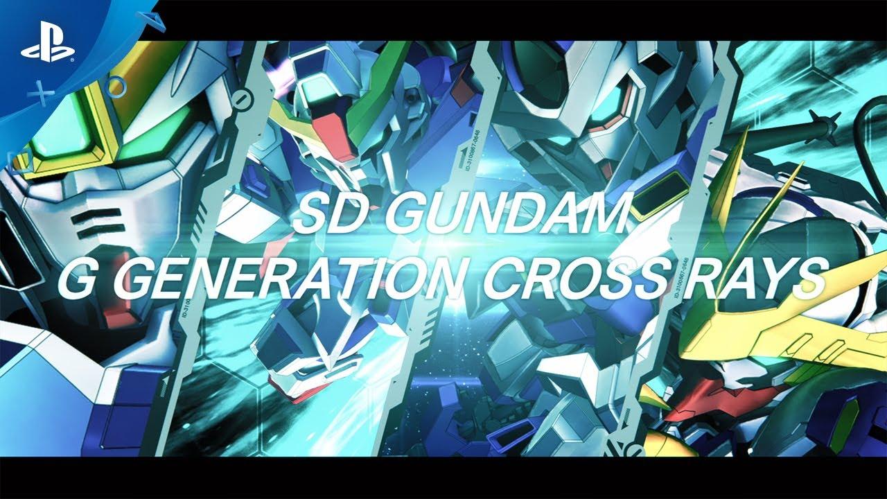 『SDガンダム ジージェネレーション クロスレイズ』 ローンチPV