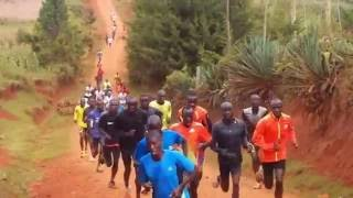 Fartlek run in Iten-Kenya
