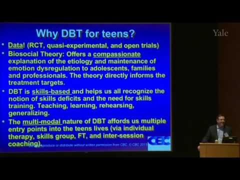 Dialectical Behavior Therapy with Adolescents (with BPD). Alec Miller (2015) HD