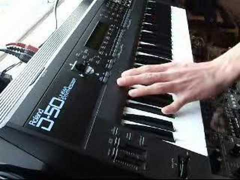 Roland D50 - manual - A classic old skool digital synth from Roland