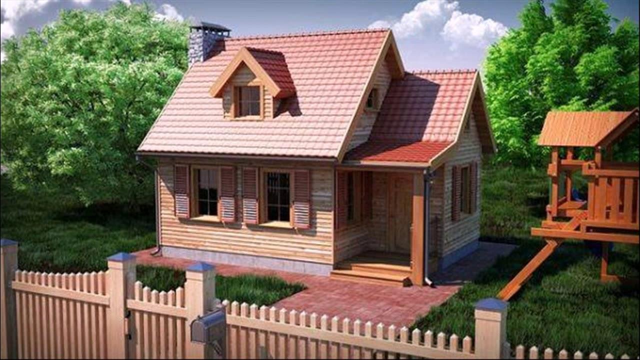 Đây là một ngôi nhà gỗ châu Âu tối giản trên YouTube