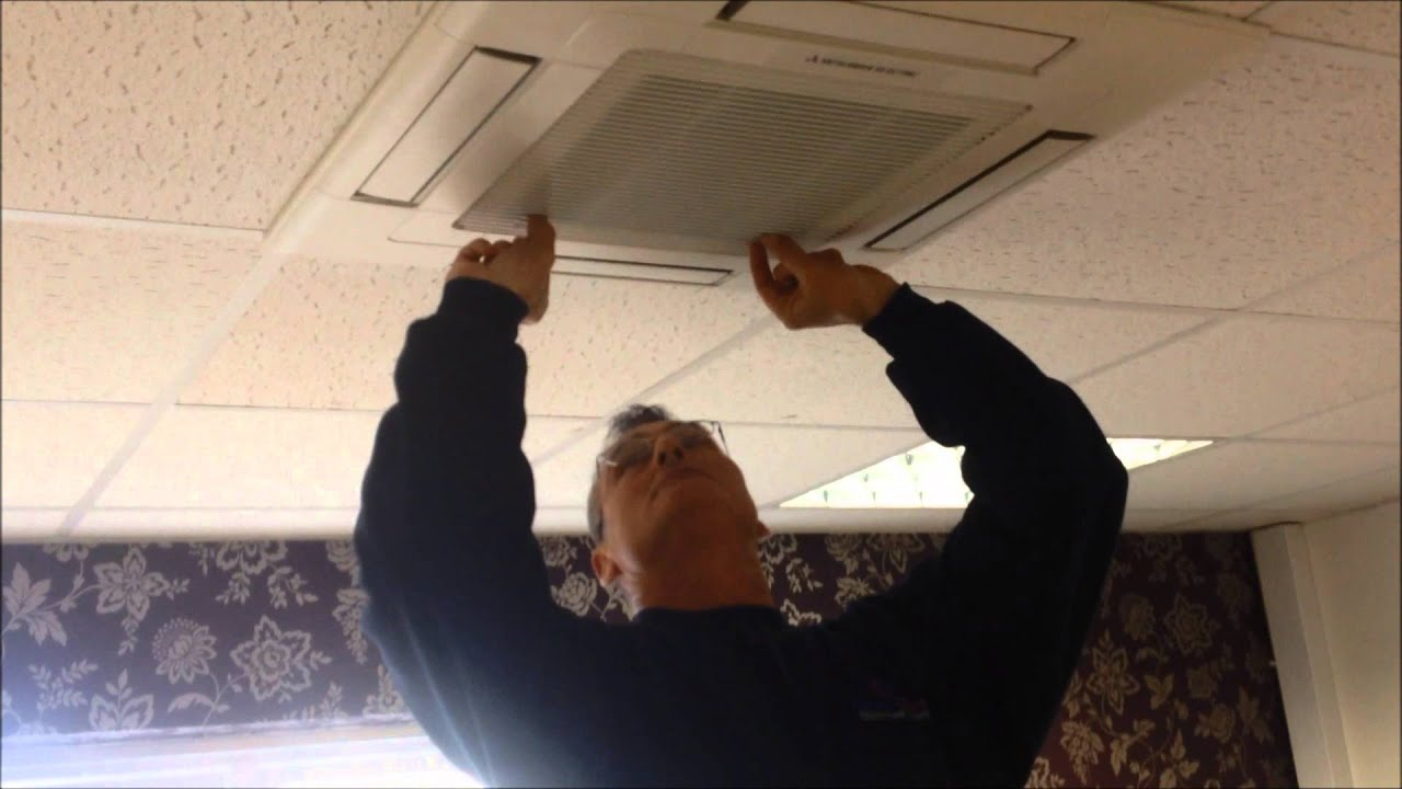 How To Clean Your Air Conditioner Filters Youtube