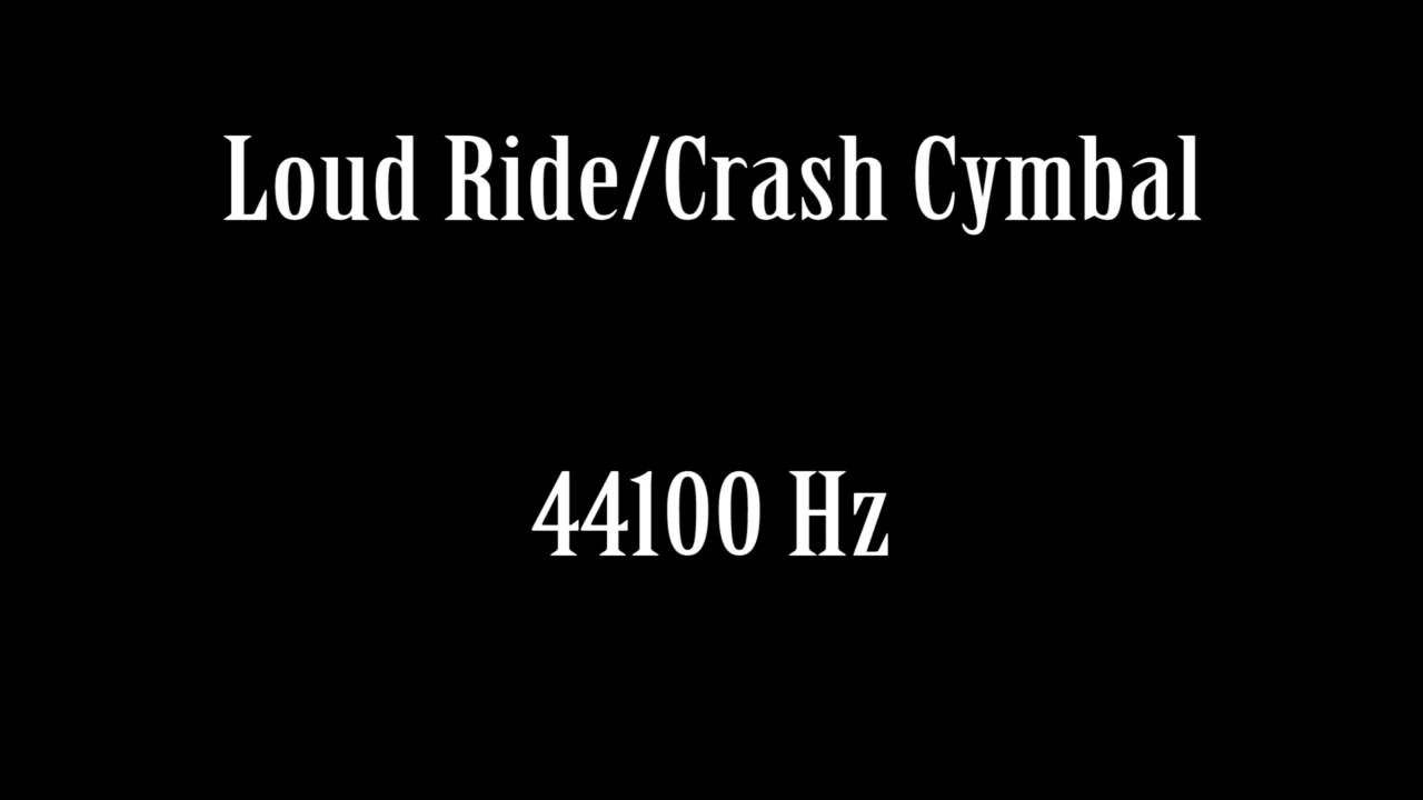 loud ride crash cymbal sound effect free high quality sound fx youtube. Black Bedroom Furniture Sets. Home Design Ideas