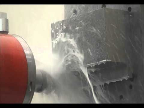 Industry Leading 33.1 in3/min Titanium Cut on  Giddings & Lewis HMC 1600 with High-Torque Spindle
