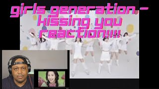 Girls Generation - Kissing You (Reaction) 키스하는 소녀 시대