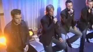 Westlife performing: Desperado.