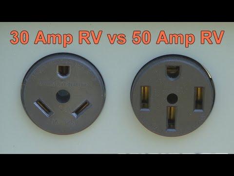 30 Amp RV vs 50 Amp RV