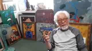 [미술1]산골시인 세계적인 김영근화백 산골아저씨 만난 …