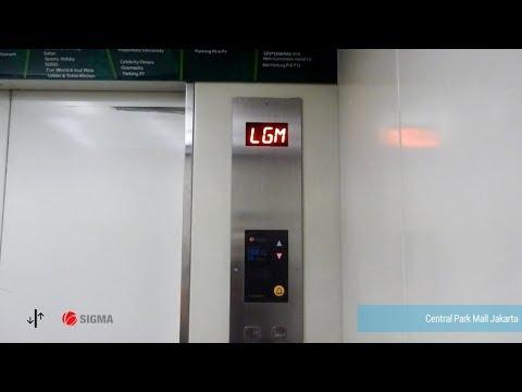 SIGMA Traction Elevators at Central Park Mall, Jakarta (Cinema)