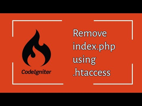 Remove Index.php From Codeigniter Using Htaccess