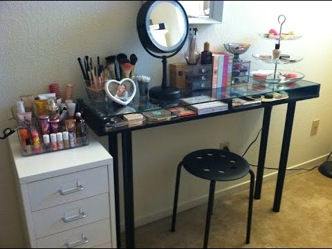 dressing with small vanity site mirror easy mirrors tabletop lights table webstechadsweb makeup uk