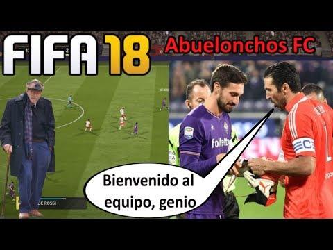 ABUELONCHOS FC - El club ficha para siempre a Davide Astori || FIFA 18 FUT Español