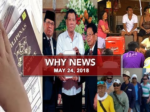 UNTV: Why News (May 25, 2018)