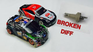 Replacing Front Differential In Wltoys K989 Drift Car