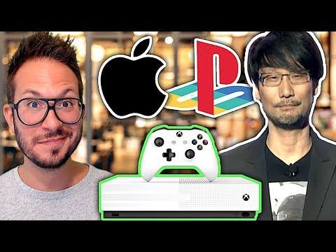 La Xbox One All Digital leakée, les plans d'Apple, Death Stranding ce n'est pas pour demain...