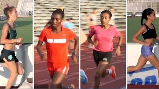 Workout Wednesday: New Mexico 3x400/Mile/400