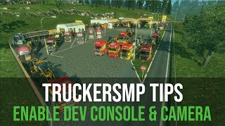 Euro Truck Simulator 2 Tutorial: How to enable Developer Console and Camera