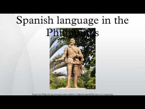 Spanish language in the Philippines