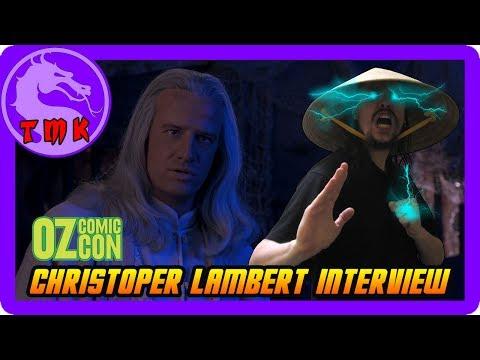 Christopher Lambert   OZ Comic Con 2017  Mortal Kombat Movie! Lord Raiden! Highlander!
