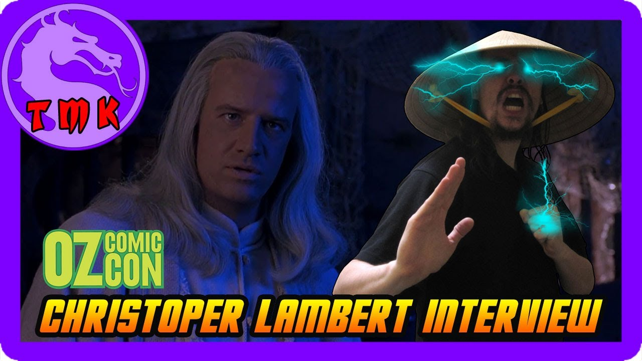 Christopher Lambert Interview Oz Comic Con 2017 Mortal Kombat Movie Lord Raiden Highlander