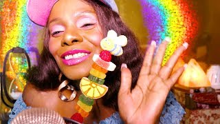 Chewy Candy ASMR Eating Sounds | Chocolate Factory Gummy Stick