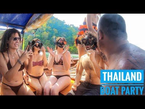 Indian Enjoying Thailand BOAT Party   Krabi Travel Vlog 2019 Mp3