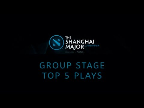 Top 5 Group Stage Plays @ The Shanghai Major 2016