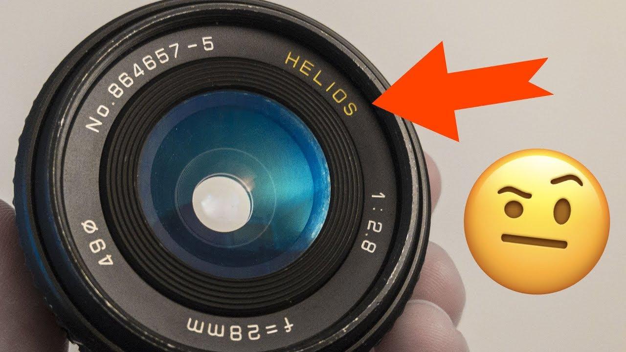This Rare Helios Lens has a DIRTY SECRET (28mm f2 8)