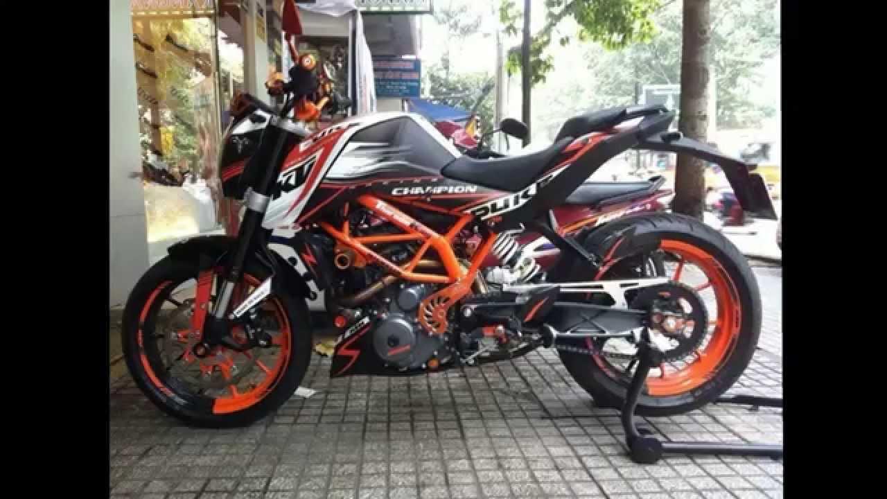 Ktm 200 Duke Motorcycle Sticker 4