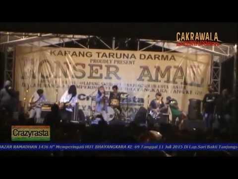 Crazy Rasta - Kucari Jalan Terbaik (Live) KONSER AMAL HUT BHAYANGKARA KE-69