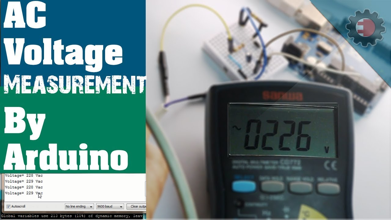 AC Voltage Measurement by Arduino
