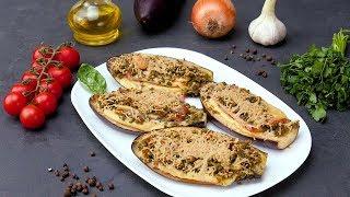 Баклажаны с ветчиной и пармезаном - Рецепты от Со Вкусом