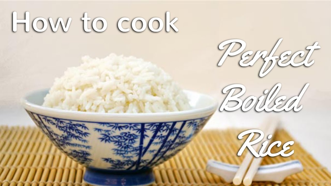 How To Cook Perfect Boiled Rice Chinese Recipes For All
