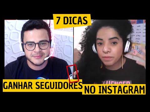 COMO conquistar SEGUIDORES reais no INSTAGRAM, crescer no Instagram, seguidores brasileiros
