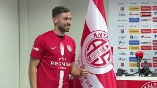 TRANSFER - Antalyaspor, eski Galatasaray'lı Sinan Gümüş ile sözleşme imzaladı!