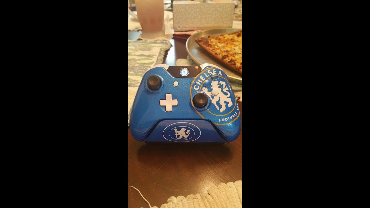 Chelsea Themed Xbox One Controller Youtube