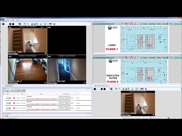 SDS Guardian / Victor VMS / C-CURE 9000 integration