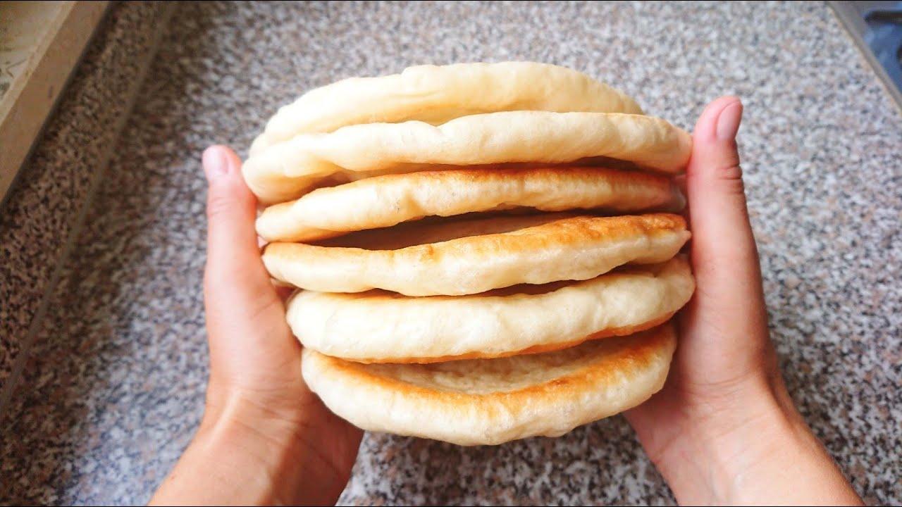 Без ДУХОВКИ! Лепешки из НИЧЕГО Вместо Хлеба!