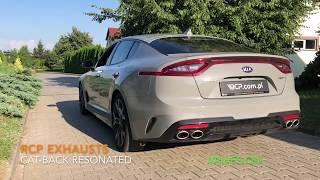 RCP Exhausts | Kia Stinger GT 3.3 V6 | Cat Back Exhaust + Valves