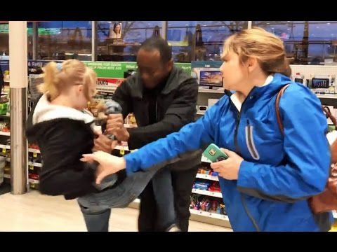 Busted Hillsboro shoplifting suspect 'goes crazy'