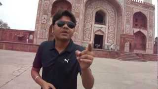"""Sunglasses On Your Face"" at 400 yr old Mughal King Akbar Royal Palace in India"