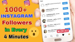 900 instagram followers every day