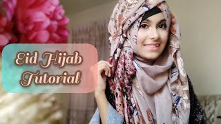 Eid Special Hijab Tutorial || Noshin Nower ❤