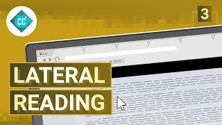 Check Yourself with Lateral Reading: Crash Course Navigating Digital Information #3