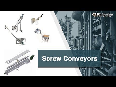 Screw Conveyor Manufacturers | Screw Conveyor Suppliers