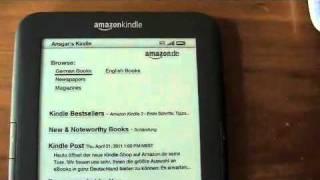 Kindle 3 (Amazon.de) im Test