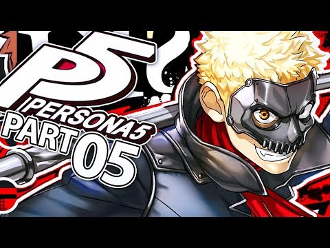RYUJI'S PERSONA AWAKENING!   Persona 5 Gameplay Walkthrough Part 5 (PS4)