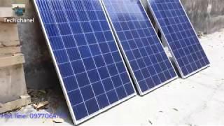TECH - Test hệ thống điện năng lượng mặt trời hòa lưới 810W