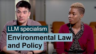 Environmental Law and Policy LLM